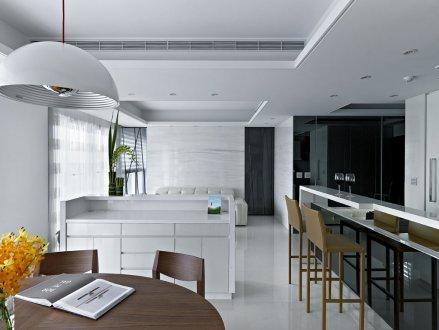 室內設計-極緻簡約風:大同世界翁公館
