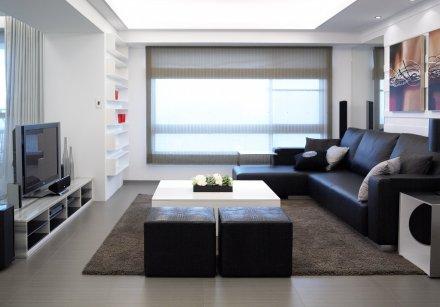 室內設計-極緻簡約風:大都市未來城陳公館