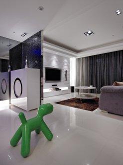 室內設計-流行時尚風:黃晶鑽卓公館